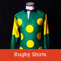Horse racing rugby shirts