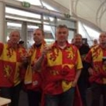 Owain Glyndwr rugby shirts on tour with the Lions