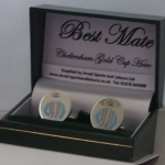Badges back in stock plus new cufflinks