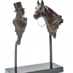 Sir Henry Cecil and Frankel Limited Edition Bronze