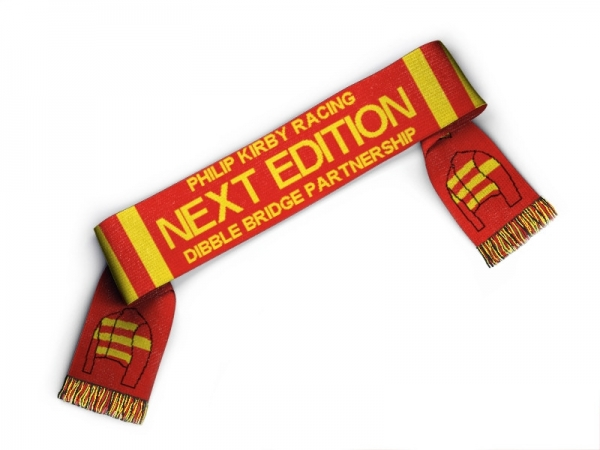 10 x Bespoke Scarves In Your Racing Colours