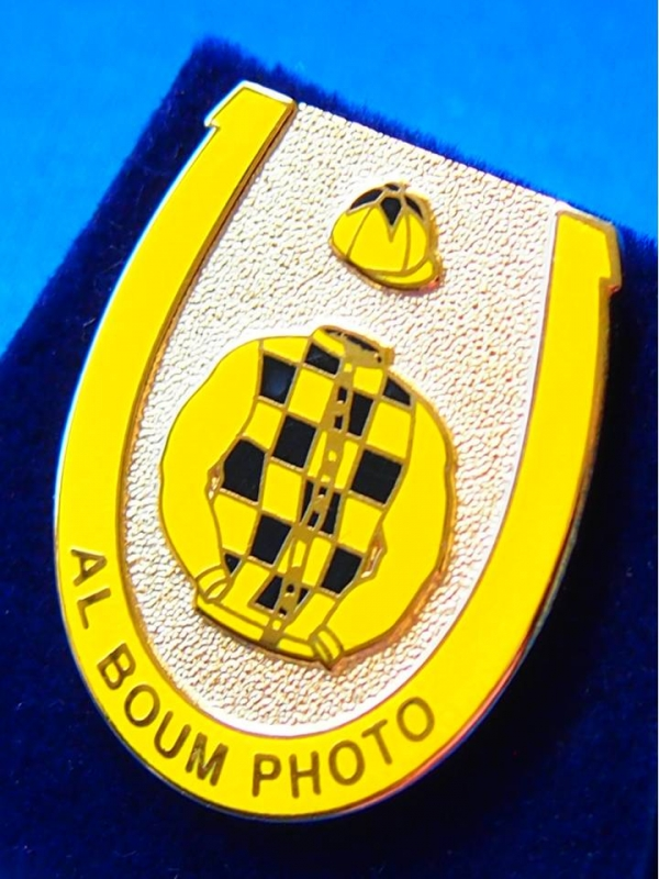 Al Boum Photo Badge