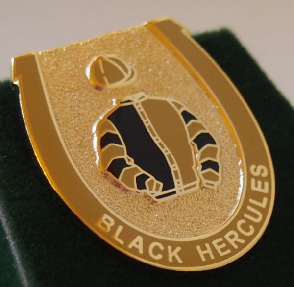 Black Hercules Badge
