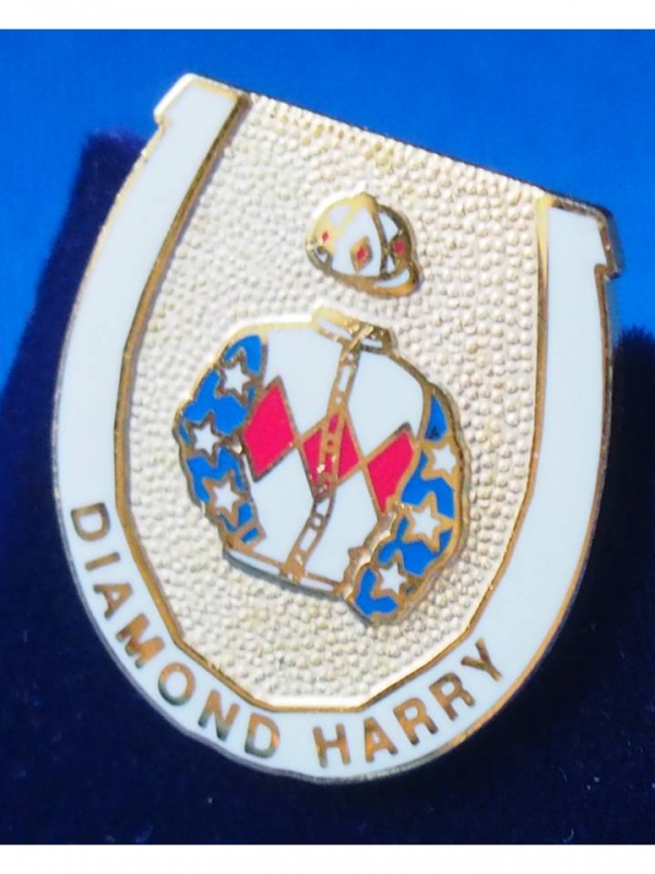 Diamond Harry Badge