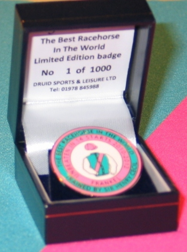 Frankel Limited Edition Badge