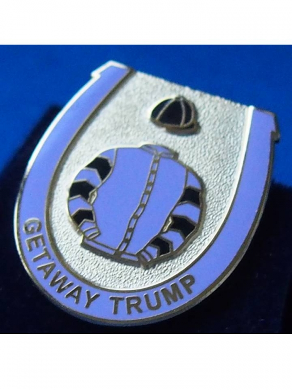Getaway Trump Badge