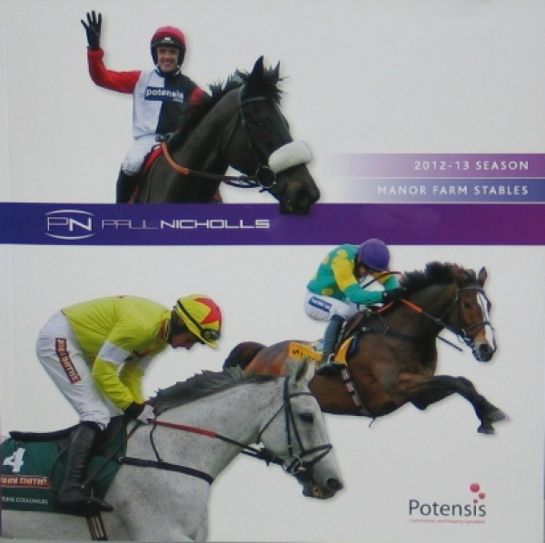 Paul Nicholls 2012/2013 Season Preview