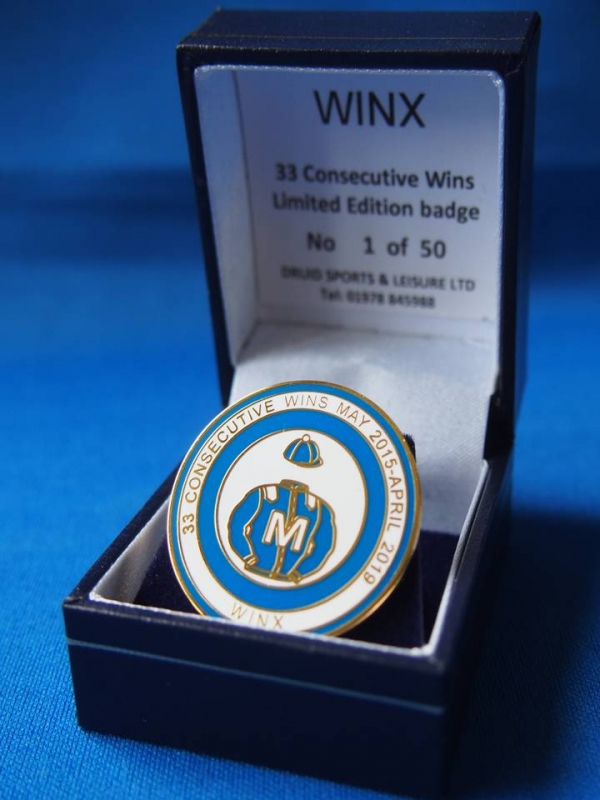 Winx Limited Edition Badge