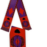 3 x Bespoke Scarves In Your Racing Colours (£159.00)