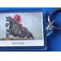 Big Buck's Keyring