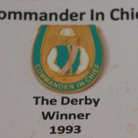 Commander In Chief Badge