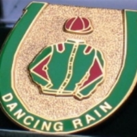 Dancing Rain Badge