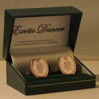 Exotic Dancer Cufflinks