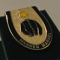 Masked Marvel Badge