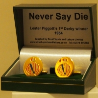 Never Say Die Cufflinks