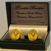 Rooster Booster Cufflinks