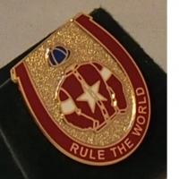 Rule The World Badge