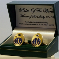 Ruler Of The World Cufflinks