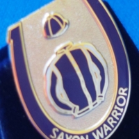 Saxon Warrior Badge
