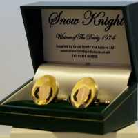 Snow Knight Cufflinks