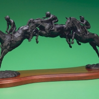 The Art Of Steeplechasing Limited Edition Bronze