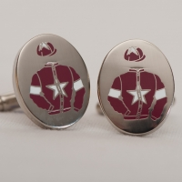 War Of Attrition Cufflinks